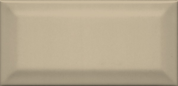 плитка настенная клемансо беж тёмный грань 7,4х15 16052