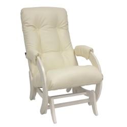 Кресло-качалка глайдер МИ Модель 68 (Дуб шампань, к/з Dundi 112)
