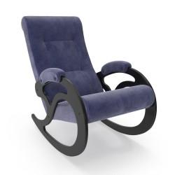 Кресло-Качалка модель  5, Verona Denim blue, венге
