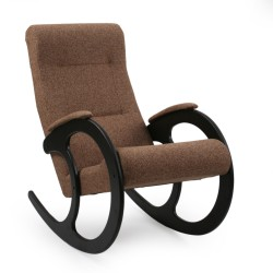 Кресло-качалка Комфорт  89х58смтканьЦвет:коричневый