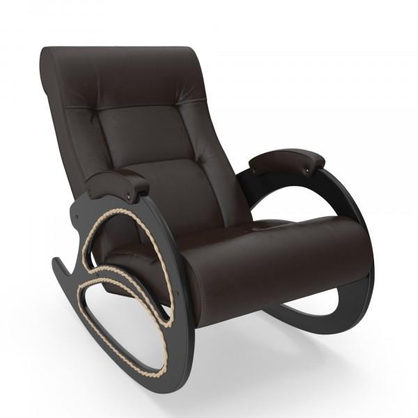 кресло-качалка модель 4, oregon perlamutr 120, венге мягкие кресла