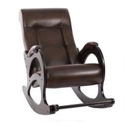Кресло классическое Комфорт  92 60 коричневый искусственная кожа