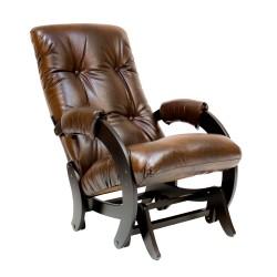 Кресло-качалка Комфорт  89 60 коричневый искусственная кожа