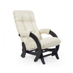 Кресло-качалка глайдер МИ Модель 68 (Венге, к/з Dundi 112)
