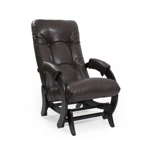 кресло-качалка глайдер модель 68, vegas lite amber, венге