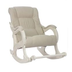 Кресло-качалка Комфорт  96 69 бежевый ткань
