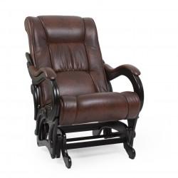 Кресло-качалка глайдер МИ Модель 78 венге (Венге, к/з Antik crocodile)