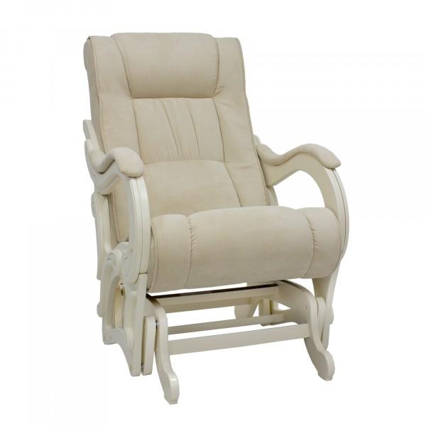 кресло-качалка глайдер ми модель 78 дуб шампань (дуб шампань, ткань verona vanilla)