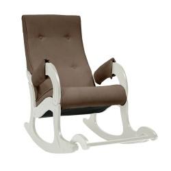 Кресло-качалка Комфорт  83 58 коричневый ткань