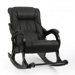 Кресло-качалка МИ Модель 77 венге (Венге, к/з Dundi 108)
