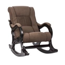 Кресло-качалка МИ Модель 77 венге (Венге, ткань Verona Brown)