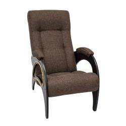 Кресло классическое Комфорт  94х61смтканьЦвет:коричневый