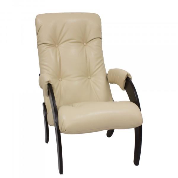кресло для отдыха модель 61, polaris beige, венге кресло для отдыха aria