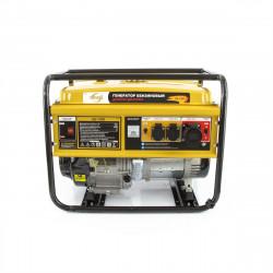 Генератор бензиновый GE 7900, 6,5 кВт, 220В/50Гц, 25 л, ручной старт DENZEL 94638