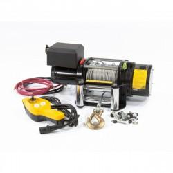 Лебедка автомобильная электрическая LB- 2000, 2,2 т, 3,2 кВт, 12 В DENZEL 52021