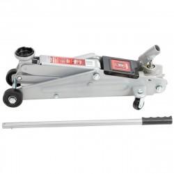 Домкрат гидравлический подкатный 3т h130-410мм с поворотной ручкой Matrix 510345