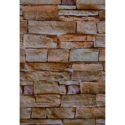 Панели ПВХ 2.7x0.25x0,07мм Камень Коричневый