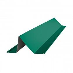 Планка снегозадержателя 2000*115*80мм ПЭ (RAL 6005 (зеленый))