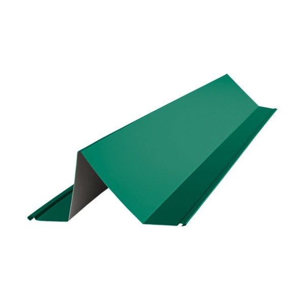 планка снегозадержателя, цвет зеленый мох ral 6005, 2000 х 115 80 мм