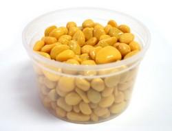 Галька цветная лимонная (фракция 5-10 мм)
