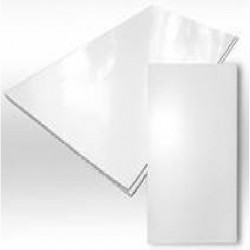 Панели ПВХ 3000x375x9мм Глянец Белый