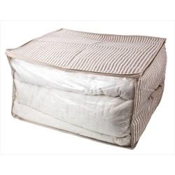 Чехол для хранения одеял ECO 45х35х30см с ручкой полипропилен HHSS-3051-01