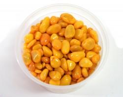 Галька цветная желтая (фракция 5-10 мм)