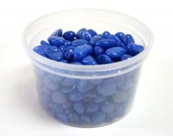 Галька цветная синяя (фракция 5-10 мм)