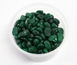 Галька цветная темно-зел. (фракция 5-10 мм)