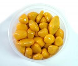 Галька цветная крупная желтая (фракция 10-15 мм)