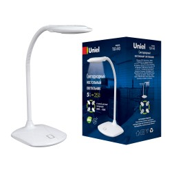 Лампа настольная Uniel Tld-543 TLD 543 White LED 350Lm 4500K