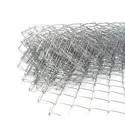 Сетка рабица с ПВХ-покрытием, ячейка 50 х 50 мм, d-1.6 мм, 1.5 х 10 м