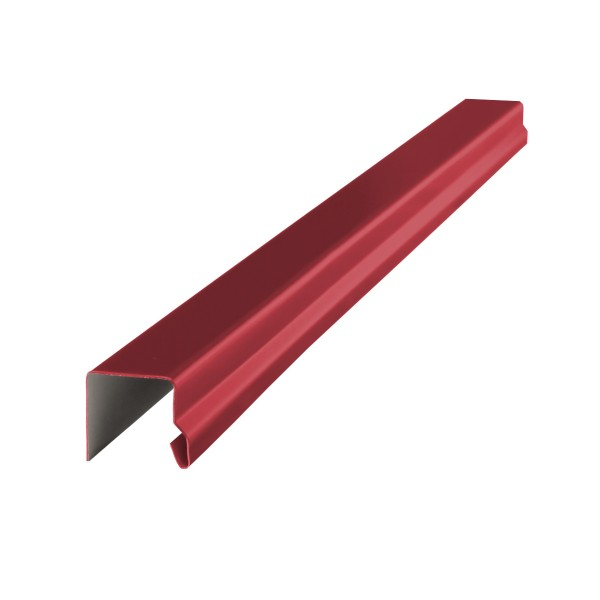 планка завершающая п-образная, цвет красное вино ral 3005, 2000 х 20 х 20 х 20 мм планка примыкания grand line velur20 ral 5005 250х150 мм резка