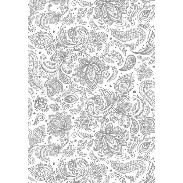 панели пвх 2700x250x8мм текстильный орнамент