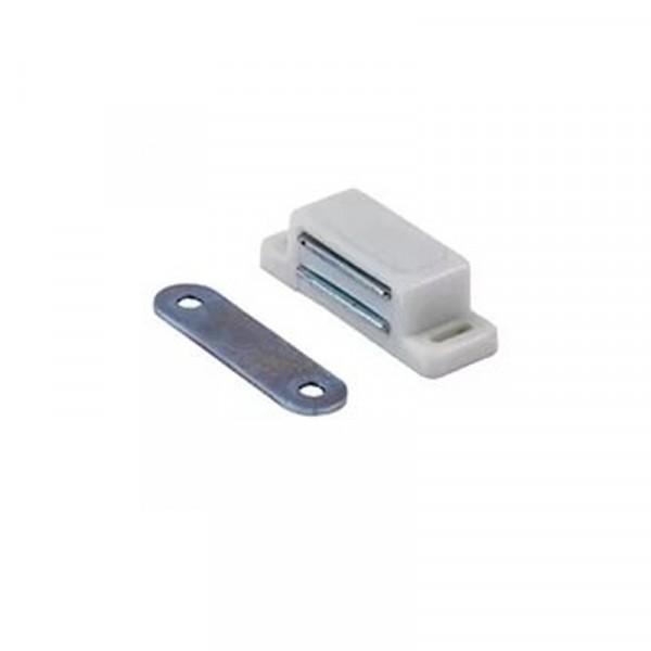 магнит мебельный малый белый