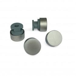 Зеркалодержатель пластик-металл, хром D-20 мм (4шт)