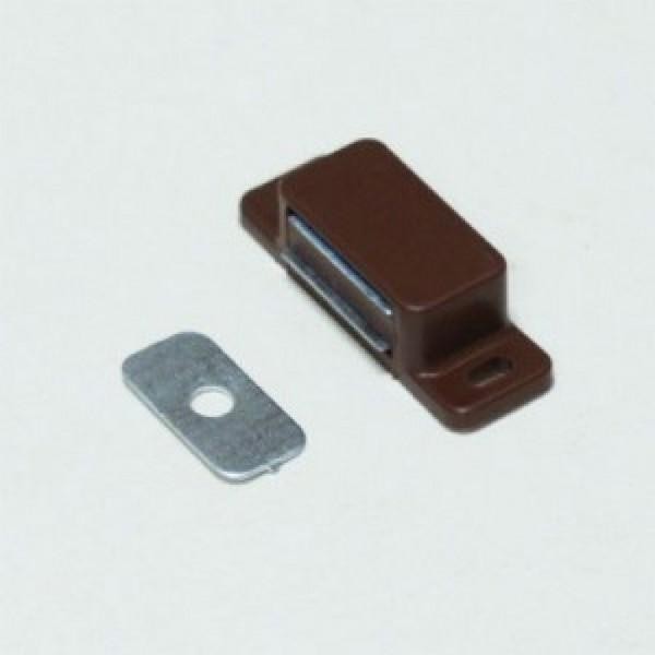 магнит мебельный малый коричневый