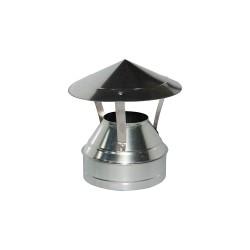 Зонт-оголовок d115/200 оцинкованный 32407