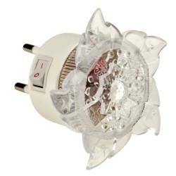 Светильник-ночник Uniel Dtl-308 Цветок RGB 4LED 0,5W