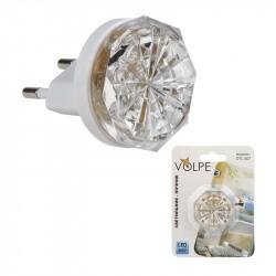 Светильник-ночник Volpe Dtl-307 Кроха White 3LED 0,5W