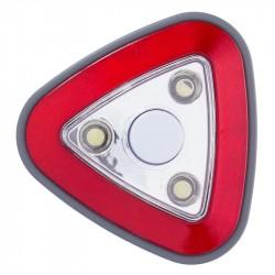 Светильник-ночник Uniel Пушлайт DTL 356 Red 3LED 3AAA