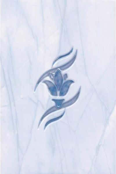 декор елена цветок синий 20х30 00007664 керамическая плитка ceramika konskie retro 3 40х50 панно