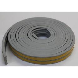 Уплотнитель Profitrast E-профиль (9*4мм) серый 6м