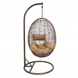 Кресло подвесное LESET SAILS BRОWN, коричневый