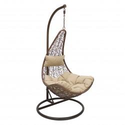 Кресло подвесное LESET STERN BRОWN, коричневый