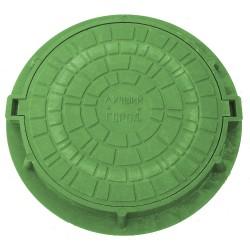 Люк тип ПП-630 780х630х90 3т (зеленый)