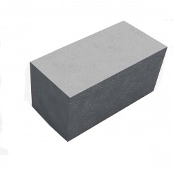 Блок пескоцементный полнотелый 400х200х200
