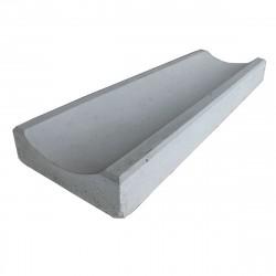 Водосток бетонный 500х160х50мм Серый