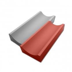Водосток бетонный 500х160х50мм Красный