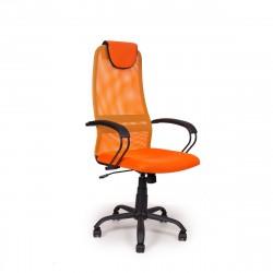 Кресло офисное Av 142 сетка оранжевый 64х64см
